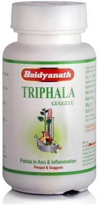 ТРИФАЛА ГУГГУЛ, (Triphala gugglu), Baidyanath, 80 таблеток - Москва и регионы РФ