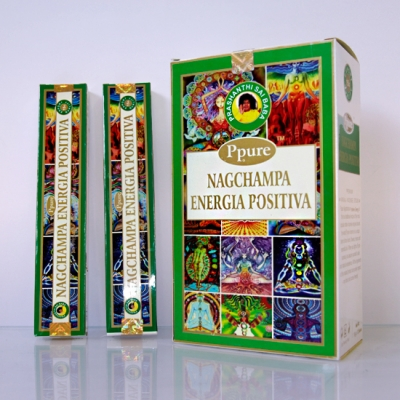 Благовония НагЧампа Позитивная Энергия (NS NagChampa Positive Energy) PPURE, 15г