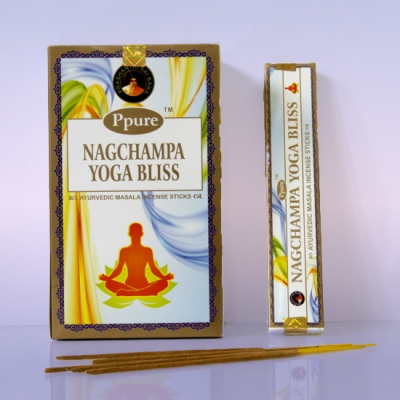 Благовония  НагЧампа Йога Блаженство (NS NagChampa Yoga Bliss) PPURE, 15г