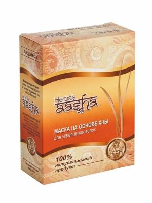 Маска для волос на основе хны Aasha Herbals, 80г