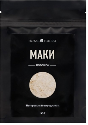 Маки порошок Royal Forest, Транскэроб, 50 г
