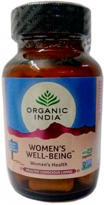 Вименс Велл-Биинг (Women's Well-Being), Organic India, 60 капс.
