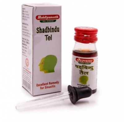 Шадбинду тел (Shadbindu Tail) Baidyanath, 25/50 мл
