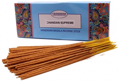 Благовония Чандан суприм МАСАЛА (NS CHANDAN SUPREME Masala), ВРИНДАВАН, 100г