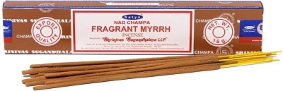 Благовония масала Аромат Мирры (NS Fragrant Myrrh) SATYA, 15 г